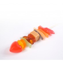 Brocheta de chuches con toffee VINTER